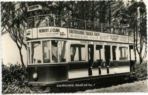 UK - England, Eastbourne. Modern Elec. Tramways Tramcar #7.  RPPC