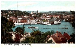 Connecticut  Norwich , View of Harbor