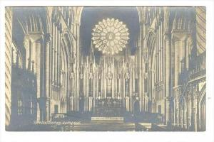 RP, Reredos, Durham Cathedral (Interior), England, UK, 1920-1940s