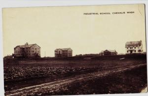 c1910 CHEHALIS Washington WA Postcard INDUSTRIAL SCHOOL Lewis County
