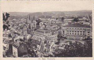 Belgium Spa Panorama 1935