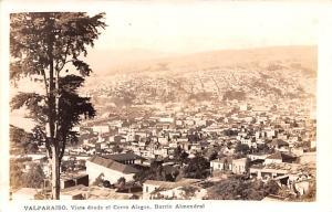 Valparaiso Republic of Chile Vista desde el Cerro Alegre, Barrio Almendral Va...