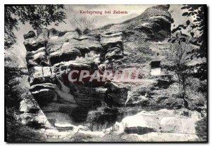 Postcard Old Karlsprung bei Zabern