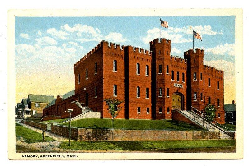 MA - Greenfield. Armory