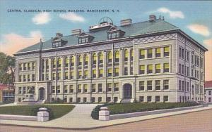 Central Classical High School Building Manchester New Hampshire