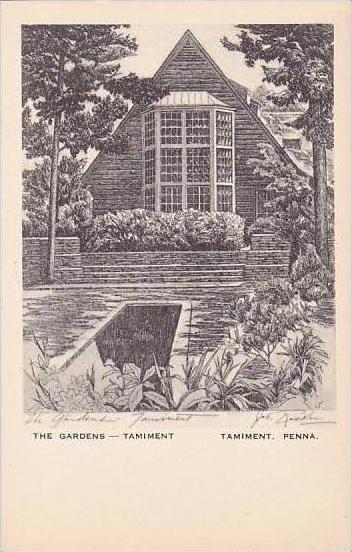 Pennsylvania Tamiment The Gardens Tamiment Artvue