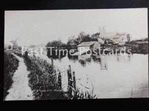 Dorset WAREHAM The Church, Canal & Towpath - wonderful scene shows bridge c1905