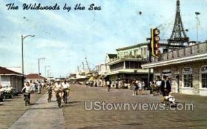 Boardwalk Wildwood-by-the Sea NJ 1965