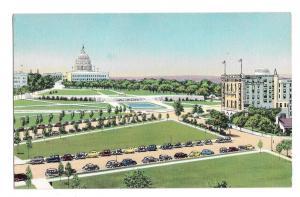 Hotel Continental Washington DC Capitol Plaza  Senate Vintage 1950s Postcard
