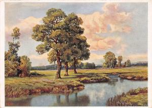 B75037 C Greitag sommerlandfchaft   paintings peinture  postcard