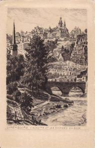 Calzette et les Rochers du Bock, Luxembourg, 10-20s