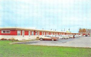 Wheaton MN Wheaton Motel Old Cars Hwy 75 Postcard