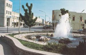 Christina Street, showing  Fountain & City Hall Square in the forground,  Sar...