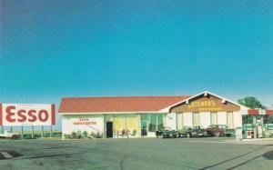 Bateman's Restaurant, Esso Servicentre, Classic Cars, RIDGETOWN, Ontario, Canada