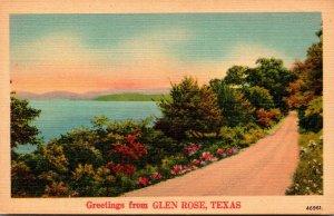 Texas Greetings From Glen Rose