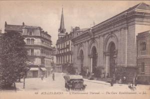 France Aix les Bains L'Etablissement Thermal The Cure Establishment