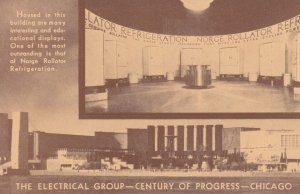 The Electical Group, Century of Progress Expo, CHICAGO, IL ,1933; Norge Rolla...