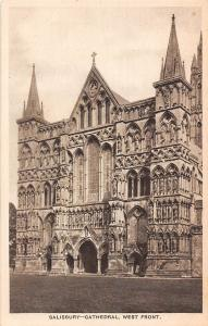 England Salisbury - Cathedral, West Front