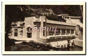 Old Postcard L & # 39Usine Hydro Electrique Mareges Facade