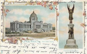 LITTLE ROCK, Arkansas, 1906 ; New State Capitol & Confederate Monument
