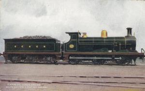 UK Railroad Train, 00-10s; Express Goods Engine, South Eastern & Chatham Railway