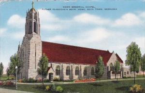 Nebraska Boys Town Downd Memorial Chapel Father Flangans Boys Home