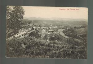 Mint Ceylon BW RPPC Real Picture Postcard Nuwara Eliya Mountain View