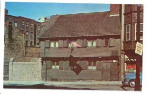 Paul Revere House Boston Massachusetts MA
