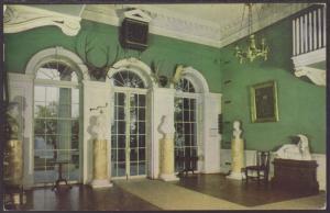 Entrance Hall,Monticello,Charlottesville,VA Postcard BIN