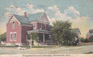 KETTLERSVILLE, Ohio, PU-1930; Evangelical Emanuel Parsonage