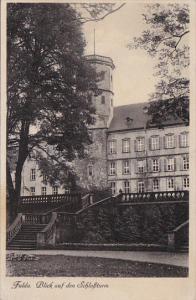 Blick Auf Den Schlossturn, FULDA (Hesse), Germany, 1910-1920s