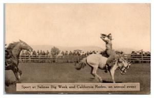 Salinas Big Week and California Rodeo Postcard *4W
