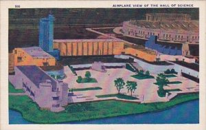 Airplane View Of The Hall Of Science Chicago World's Fair 1933-34