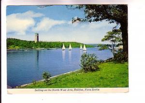 Sailing North West Arm, Halifax, Nova Scotia