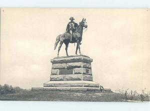 W-Border MONUMENT SCENE Valley Forge - Philadelphia Pennsylvania PA F2826