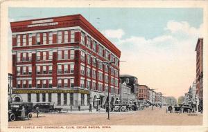 Iowa Cedar Rapids American Trust Savings Bank,  Masonic Temple and ...
