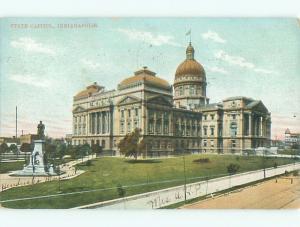 Pre-1907 CAPITOL BUILDING Indianapolis Indiana IN Q2075