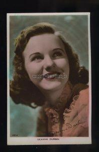 b0635 - Film Actress - Deanna Durbin - Art Photo No.141 A - postcard