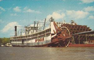 Showboat Sprague at Vicksburg Mississippi
