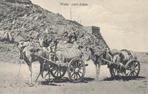 Aden , Yemen , 00-10s ; Water Cart