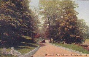 Indiana Indianapolis Brookside Park Driveway