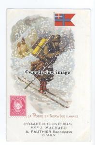 su3227 - Postmen of Norway - postcard