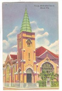 Trinity Methodist Church, Miami, Florida, 40-60s