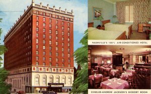 TN - Nashville. The Drinkler-Andrew Jackson Hotel
