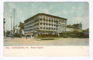 Market Square, Harrisburg, Pennsylvania, 1900-1910s