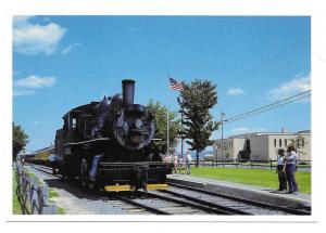 Strasburg Railroad PA Steam Locomotive No 31 Train Postcard