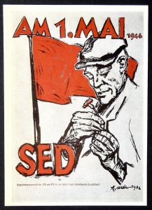 450045 ARNO MOHR May Day in 1946 DDR GDR Communist Party Propaganda Russian pc