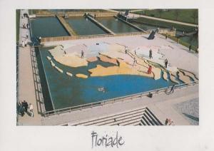 Floriade 1992 Amsterdam Dutch Flower Festival Holland Aerial Postcard