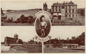 PAISLEY , Scotland, United Kingdom, 1910-30s ; 5 View Postcard