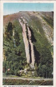 Utah Weber Canyon The Devils Slide 1936